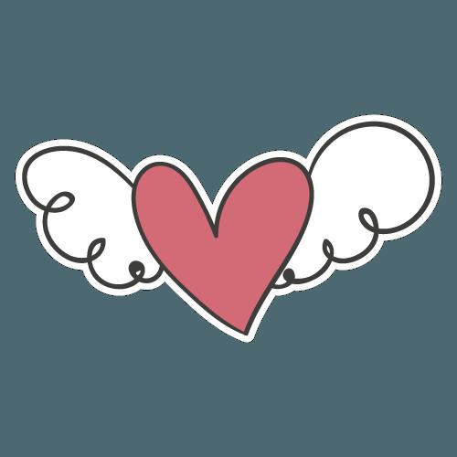Coração com Asas