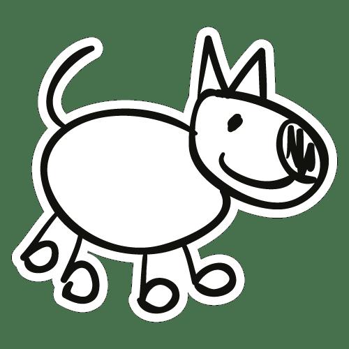 Cão de familia