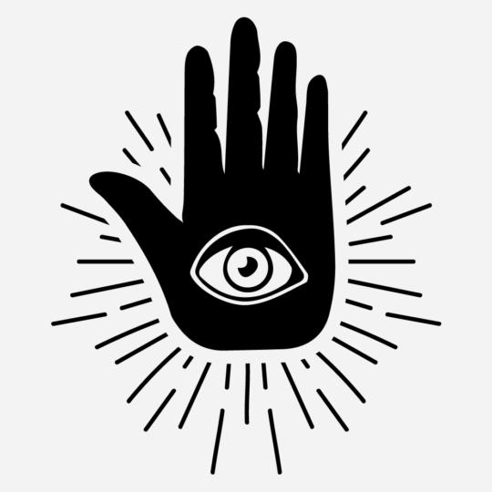 All Seeing Eye 01 Vinyl Cut Sticker For Macbook
