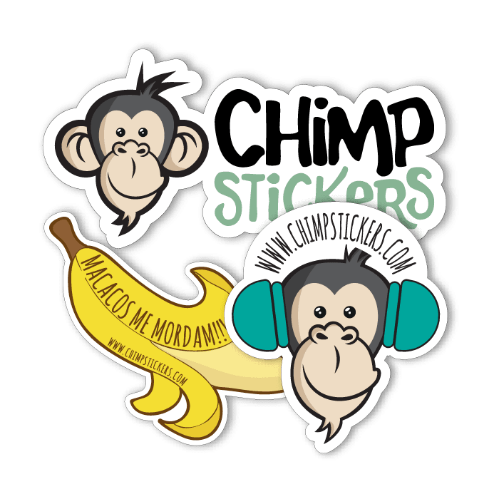Chimp Stickers