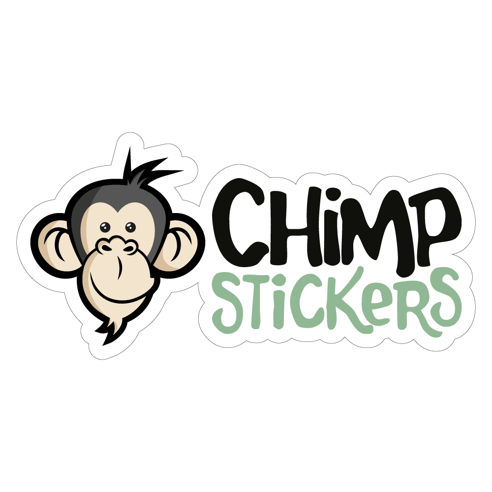 Chimp stickers logo