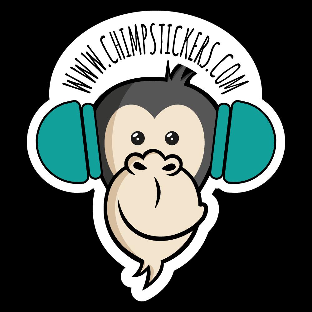 Colecção Chimp - fones chimp stickers