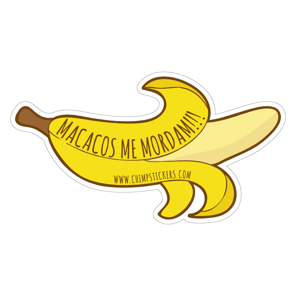 Collection Chimp chimp stickers banana