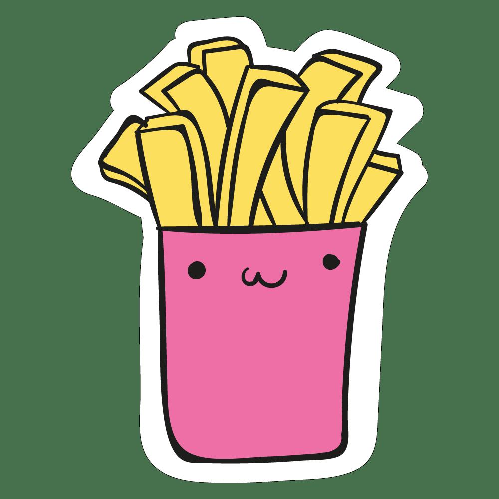 Colecção coisas fofas - Batatas Fritas