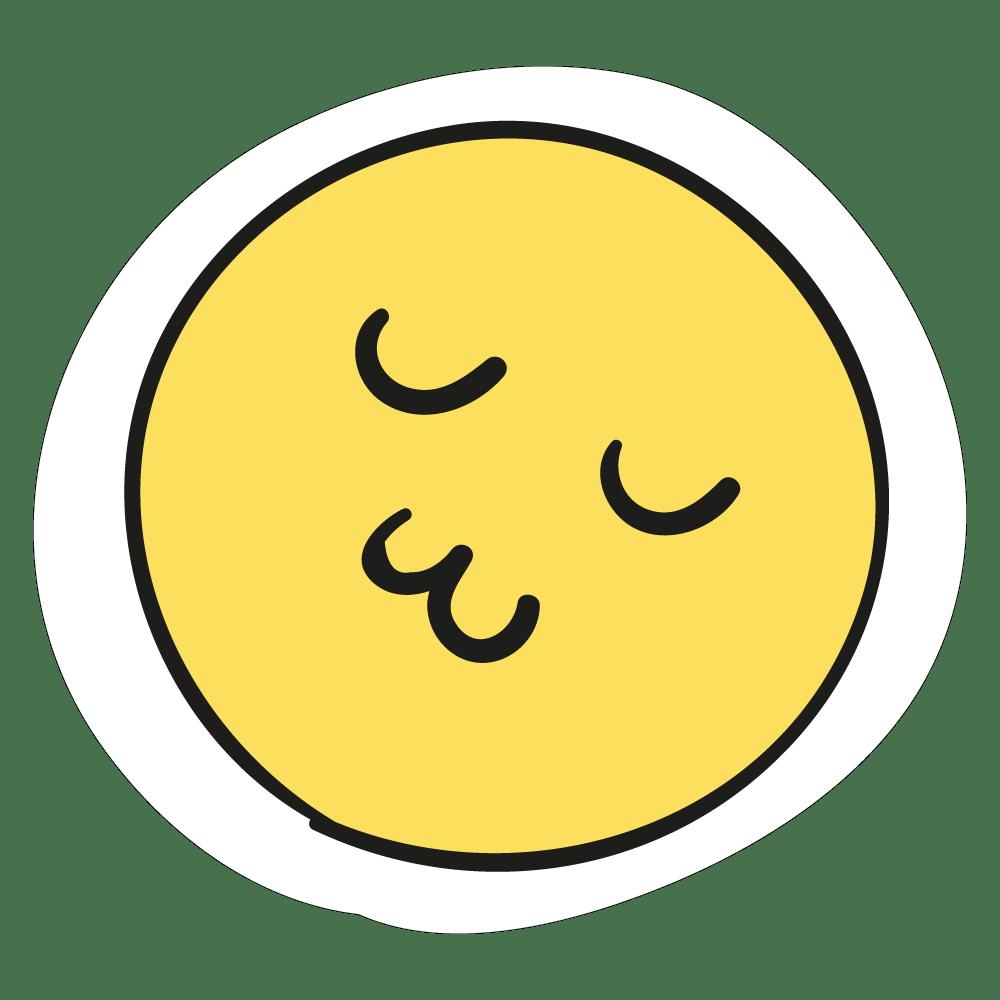Colecção Coisas Fofas - Smile beijo