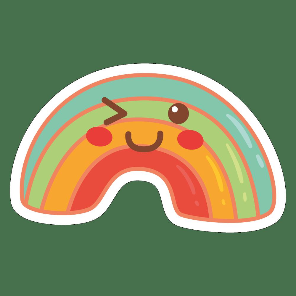 colecção coisas fofas - Arco-íris de açúcar