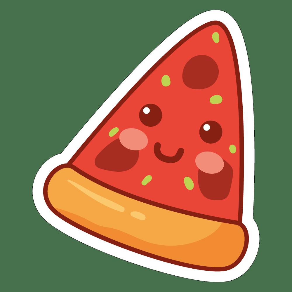 Colecção coisas fofas - pizza