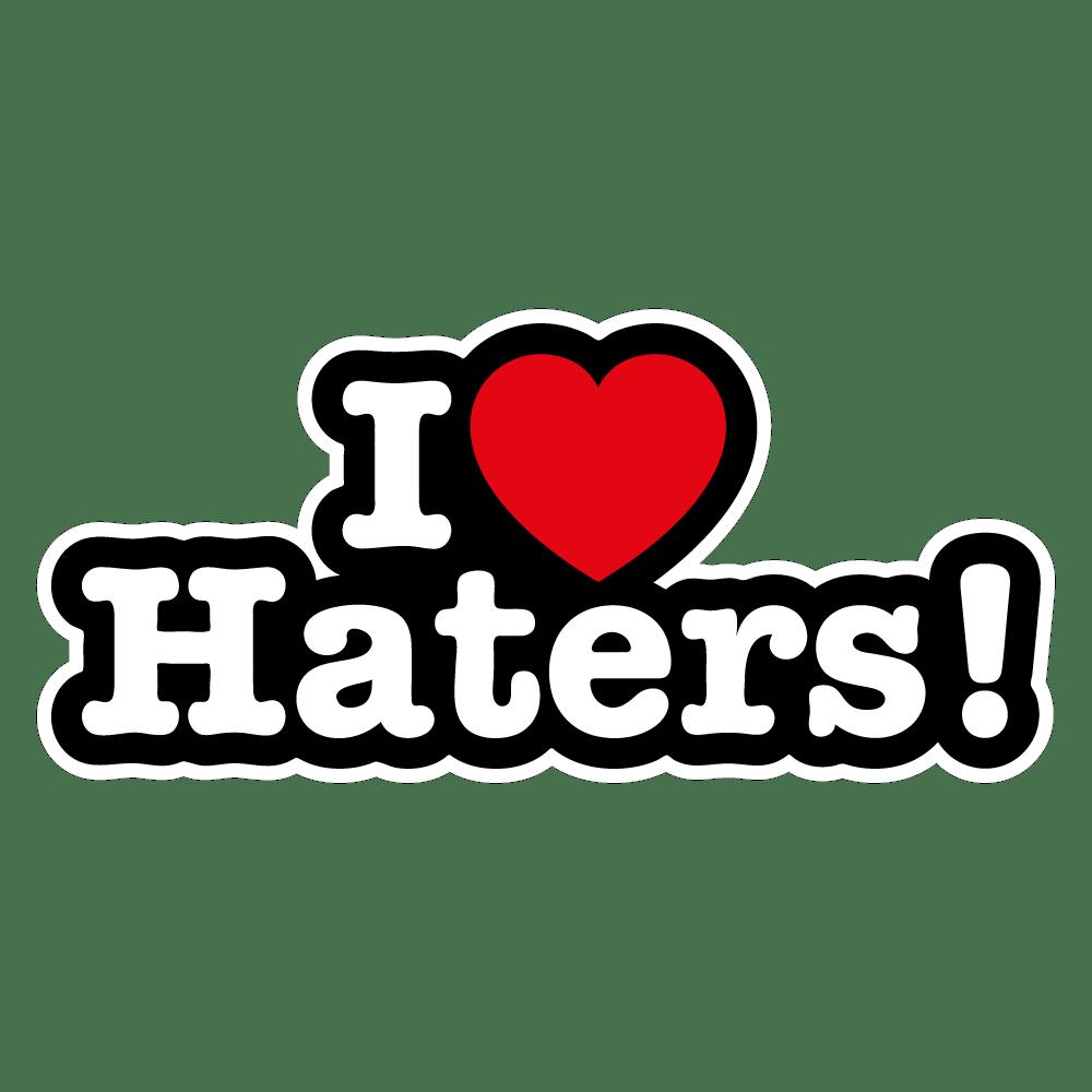 Colecção Expressões - I Love Haters